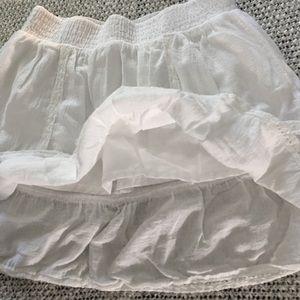 Selena Gomez Skirts - Selena Gomez White Skirt Size M